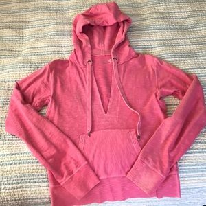 JCrew French Terry Pull Over